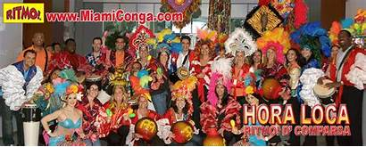 Conga Miami Carnival Cuban Loca Party Hora