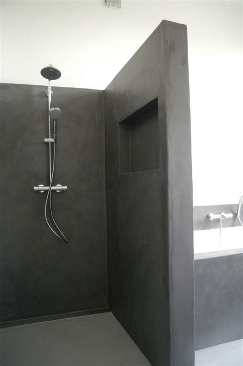 a l italienne moderne concrete bathroom grey bath for more inspiration visit http