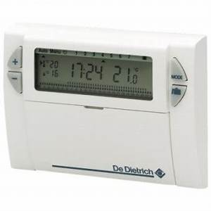 Thermostat D Ambiance Sans Fil Pour Chaudiere Gaz : thermostat d 39 ambiance dedietrich ad 247 filaire sun ~ Premium-room.com Idées de Décoration