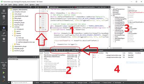 Application Creator by How To Debug An Application Using Qt Creator Packt Hub