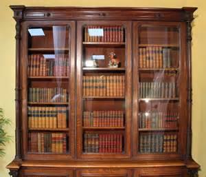 Bookcase Vintage by Antique Oak Library Bookcase Antiques Atlas