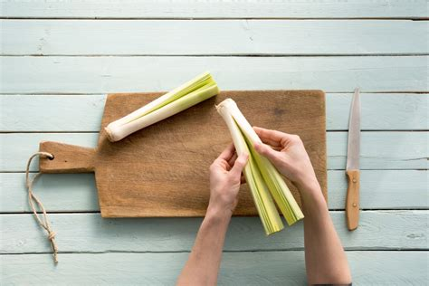 how to cut up leeks happy world health day learn how to cut leek and add it to your dinner tonight hellofresh blog