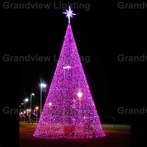 outside christmas tree lights outdoor colorful large led decoration christmas tree light