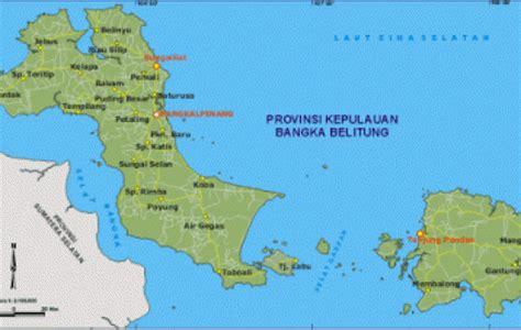 provinsi kepulauan bangka belitung bumi serumpun sebalai