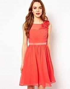 Kleid Koralle Hochzeit : brautjungfern bridemaids coast penelope kleid mit blumen hochzeit wedding ~ Orissabook.com Haus und Dekorationen