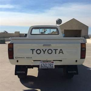 4x4 Toyota Hilux Long Bed Pickup Truck  Low Miles
