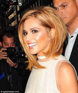 Cheryl Cole Short Hair Bob