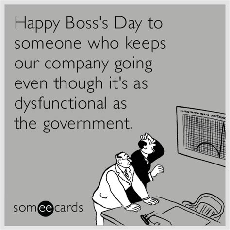 Happy Boss S Day Meme - don t forget to send your boss an ecard this monday