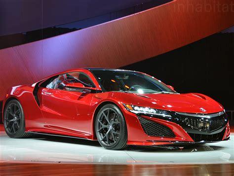 acura nsx hybrid acura unveils production ready nsx hybrid supercar at the