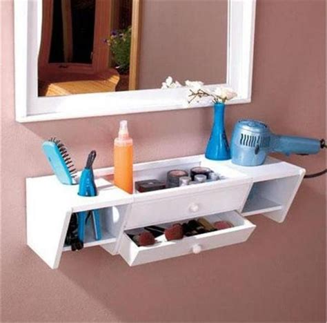 How To Hang A Bathroom Cabinet On The Wall by Ready To Hang Wooden Bathroom Storage Organizer Vanity