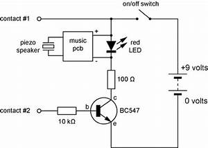 musical continuity tester With led tester circuit
