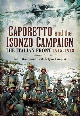caporetto   isonzo campaign  italian front