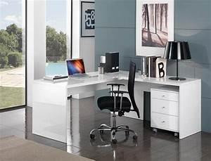 Bureau D Angle Professionnel : bureau d 39 angle design un meuble d coratif par excellence mon bureau d 39 angle ~ Teatrodelosmanantiales.com Idées de Décoration