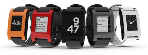the pebble smartwatch joins forces with android wear
