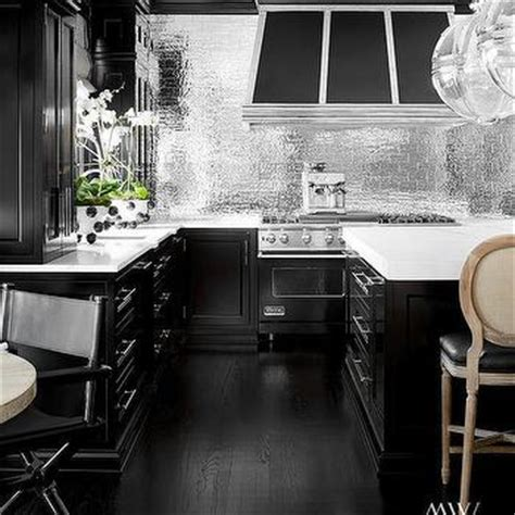 black and silver kitchen designs kitchen design decor photos pictures ideas 7842