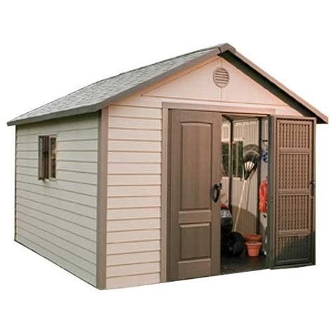 lifetime 11 x 16 outdoor storage shed