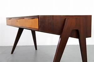 Mid Century Möbel : mid century walnut desk from behr m bel 1950s for sale at ~ A.2002-acura-tl-radio.info Haus und Dekorationen