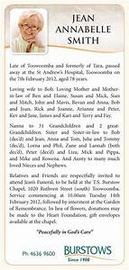 Birth Announcement Sample The Funeral Notice