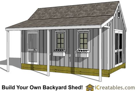 12x20 Storage Shed Plans by 12x20 Shed Plans Easy To Build Storage Shed Plans Designs