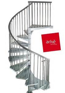 escalier metallique exterieur en kit escalier arke exterieur design colimacon helicoidal
