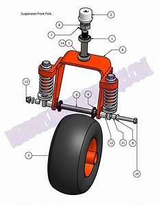 2007 Aos Front Wheel Suspension