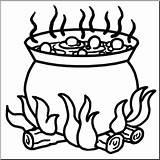 Cauldron Clip Abcteach Clipart sketch template