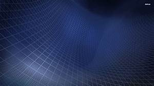 Blue Grid Wallpaper - Abstract Wallpapers