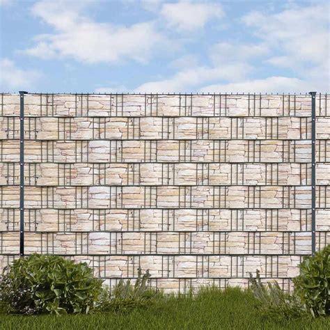 Hart Pvc Streifen by Hart Pvc Motiv Streifen Sandstein Tessin Sichtschutz Shop
