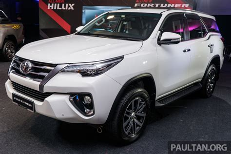 india bound  toyota fortuner launched  malaysia