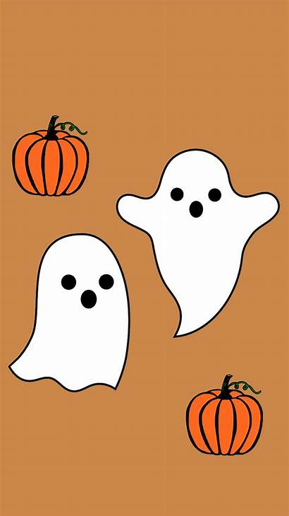 Halloween Ghost Wallpapers Iphone Backgrounds Witch Fall
