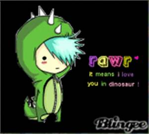 rawr it means i love you in dinosaur Pictures [p. 1 of 1 ...