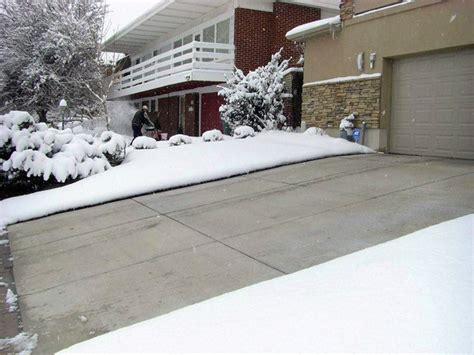 big snow country tips  radiant driveway snow melting