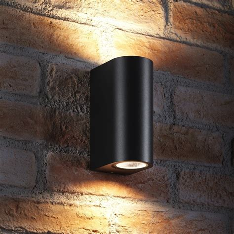 auraglow 14w outdoor double up down wall light windsor