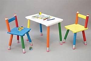 Chaise Enfant Pas Cher : table et chaises enfant pas cher ~ Teatrodelosmanantiales.com Idées de Décoration