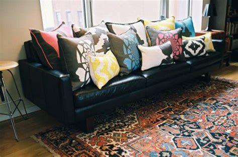 how many throw pillows on a sofa pillow talk the modern home