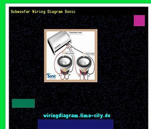 Subwoofer Wiring Diagram Sonic  Wiring Diagram 175643