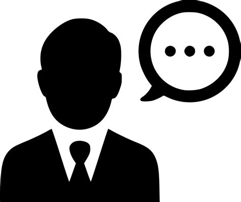 14440 talking icon png user speech comment talk negotiations svg png icon