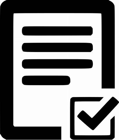 Icon Task Finished Form Forms Clipart Svg