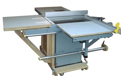 unisaw outfeed table  sliding table addon sliding