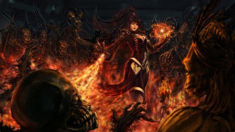 Epic Car Wallpaper 1080p Blood by Hd Wallpaper Diablo 3 Enchantress Spell Undead