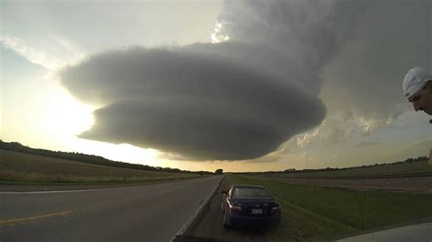 storm chase tornado alley  youtube
