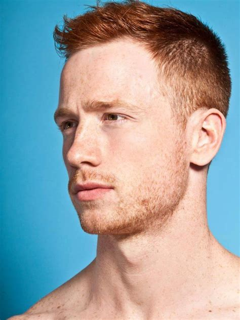 red head  crew cut mens hair hot ginger men red