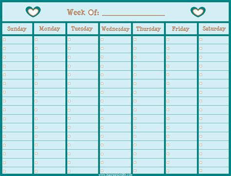 blank weekly calendar template 14 blank weekly calendar memo formats