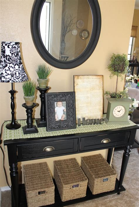 How To Make An Entryway Table by The Walkers Entryway Table Dilemma