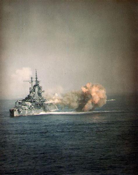 uss idaho bombarding okinawa  april  history