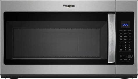 whirlpool  cu ft   range microwave  sensor