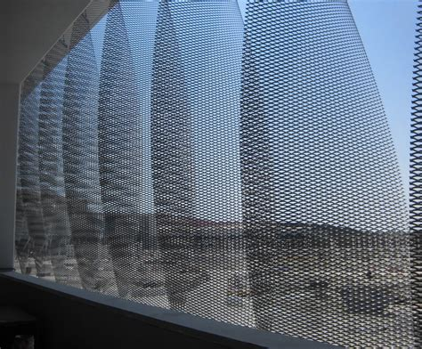 Expanded Metal Mesh for Architectural Applications