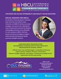 hbcu affordable learning summit  olc