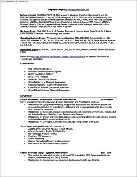 resume template for mac pages free sles exles