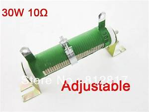 Variable Resistor Wire Wound Rheostat Resistor 10 Ohm 5